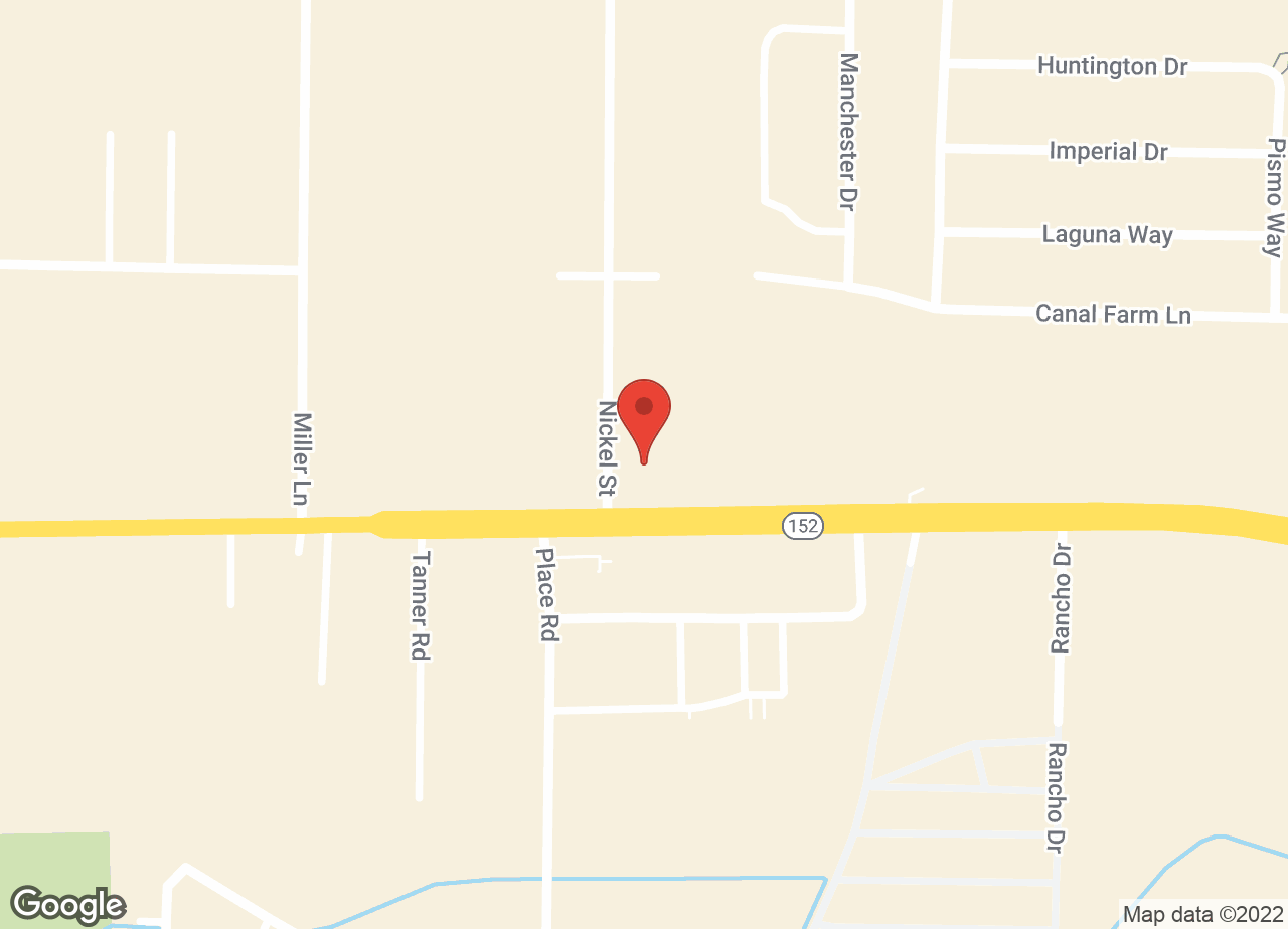 Google Map of VCA Los Banos Animal Hospital