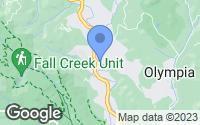Map of Ben Lomond, CA
