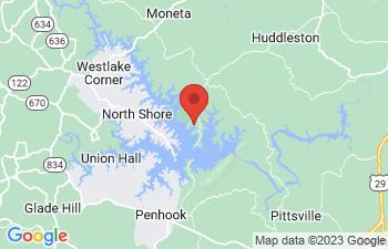 Map of Huddleston