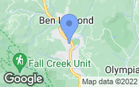 Map of Ben Lomond, CA