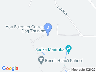 Map of Von Falconer K 9 Training Dog Boarding options in Santa Cruz | Boarding