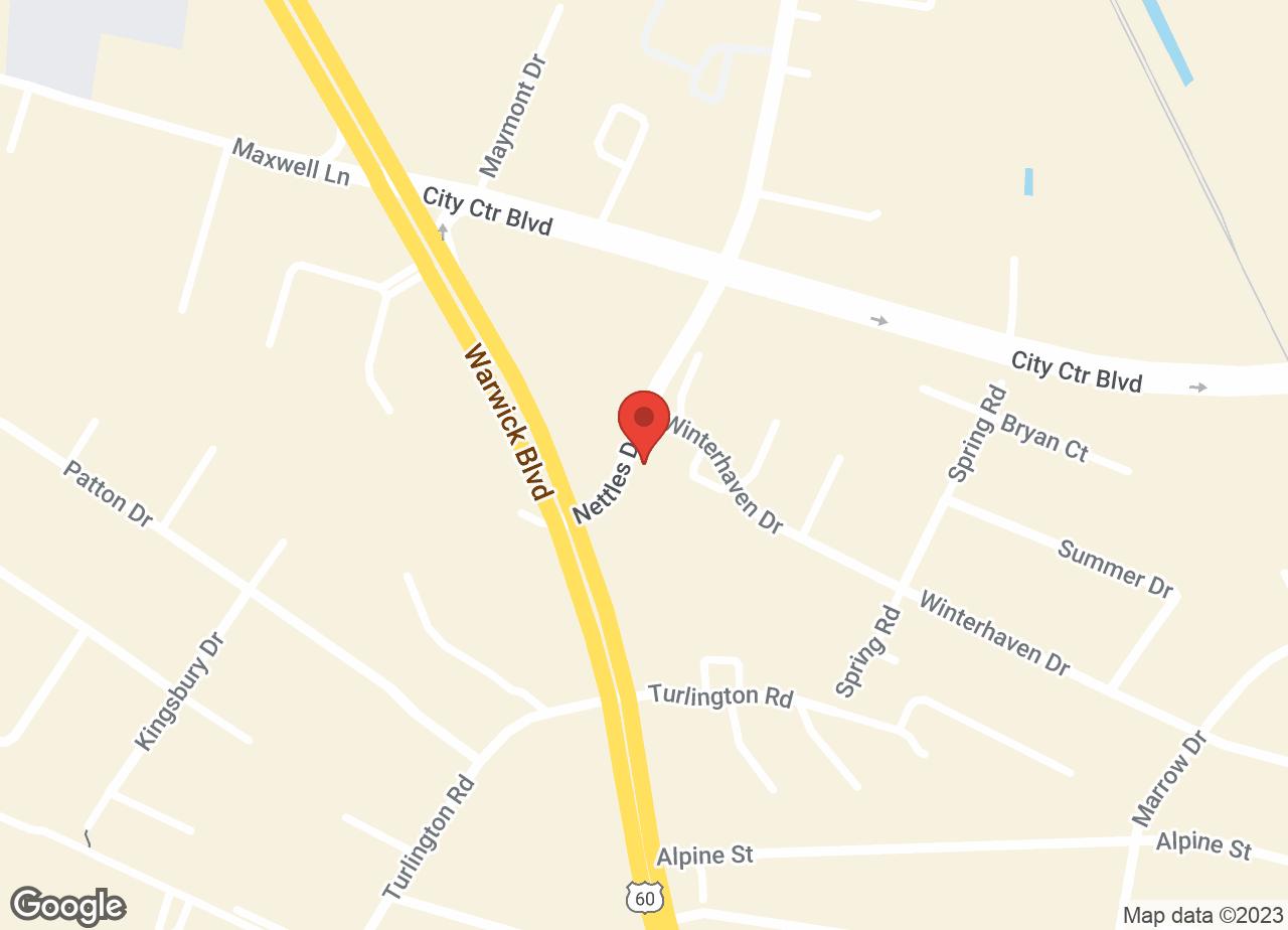 Google Map of VCA Boulevard Animal Hospital