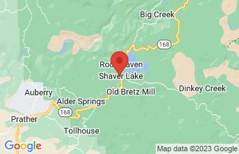 Map of Shaver Lake