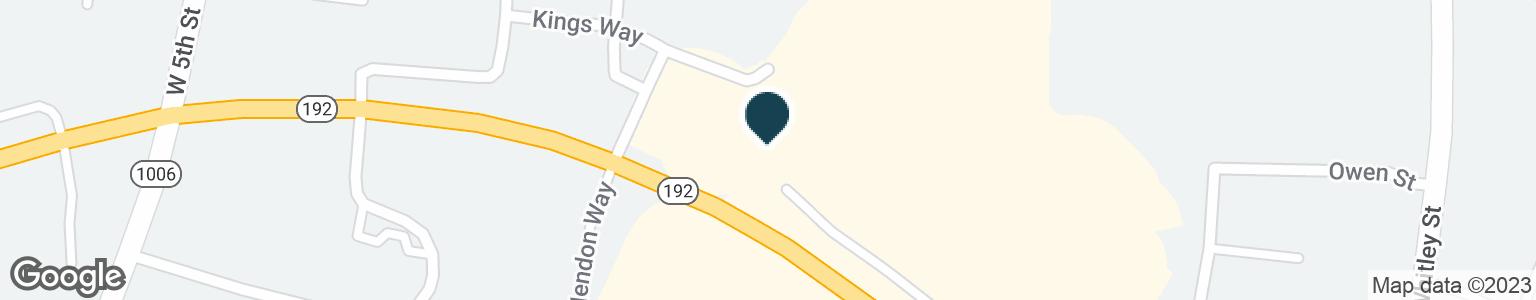 Google Map of1775 HIGHWAY 192 W
