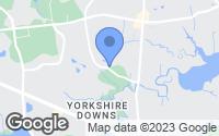 Map of Yorktown, VA