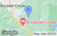Map of Boulder Creek, CA
