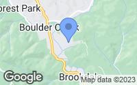 Map of Boulder Creek, CA