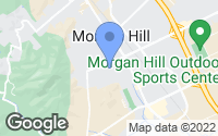 Map of Morgan Hill, CA