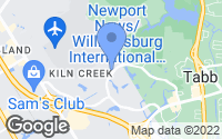 Map of Newport News, VA