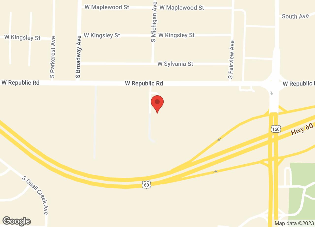 Google Map of VCA Parkcrest Animal Hospital and Pet Lodge
