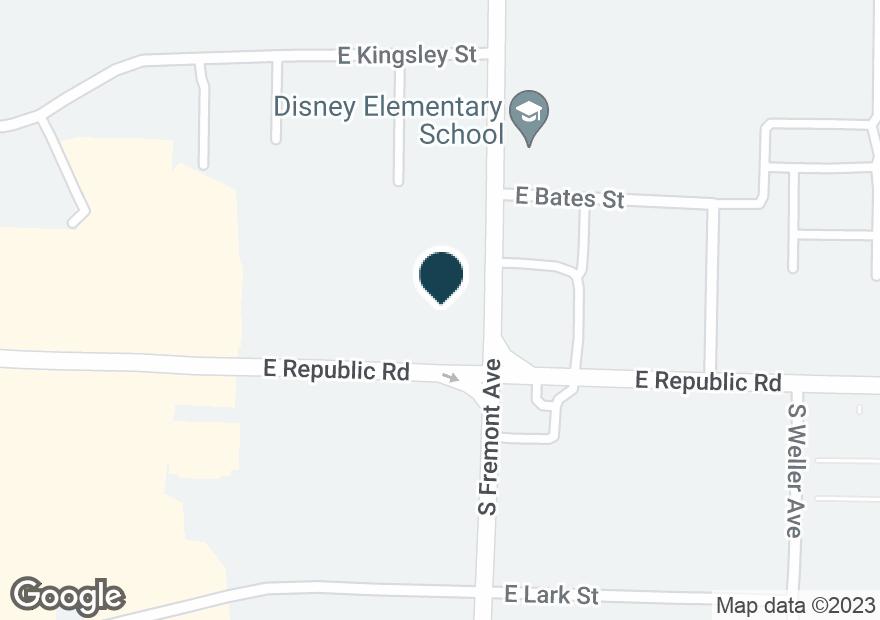 Google Map of1349 E REPUBLIC RD