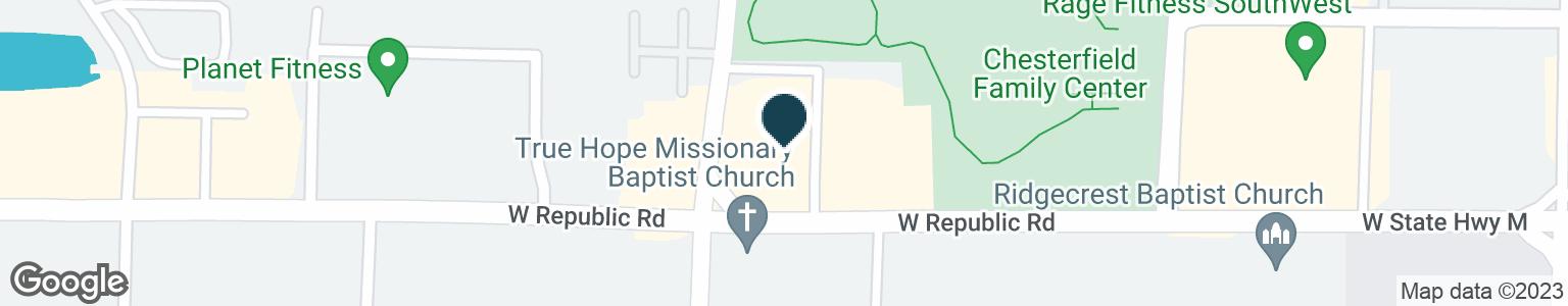 Google Map of2681 W REPUBLIC RD