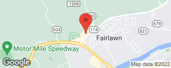 Mapa de 7337 Peppers Ferry Blvd en Fairlawn