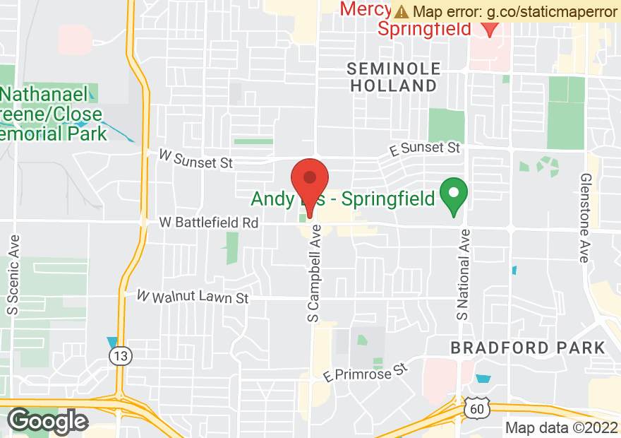 Google Map of 2951 S CAMPBELL AVE