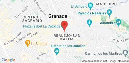 Directions to Wild Food - Restaurante vegano y vegetariano en Granada
