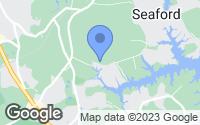 Map of Seaford, VA
