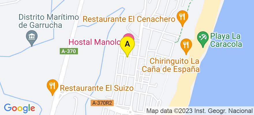 situacion en el mapa de . Direccion: Calle Valdivia nº 1, 04630 Garrucha. Almería
