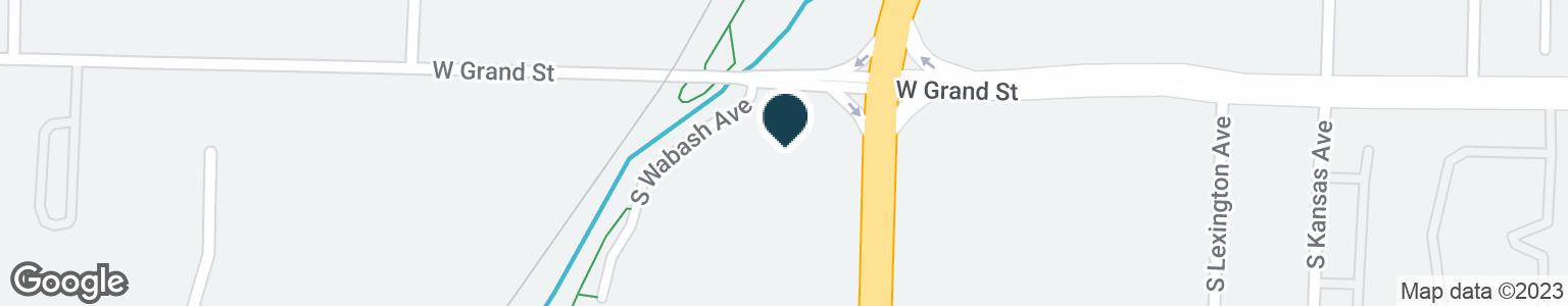 Google Map of1930 W GRAND ST