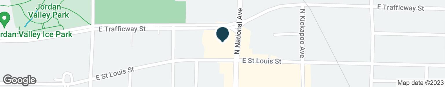 Google Map of1155 E SAINT LOUIS ST