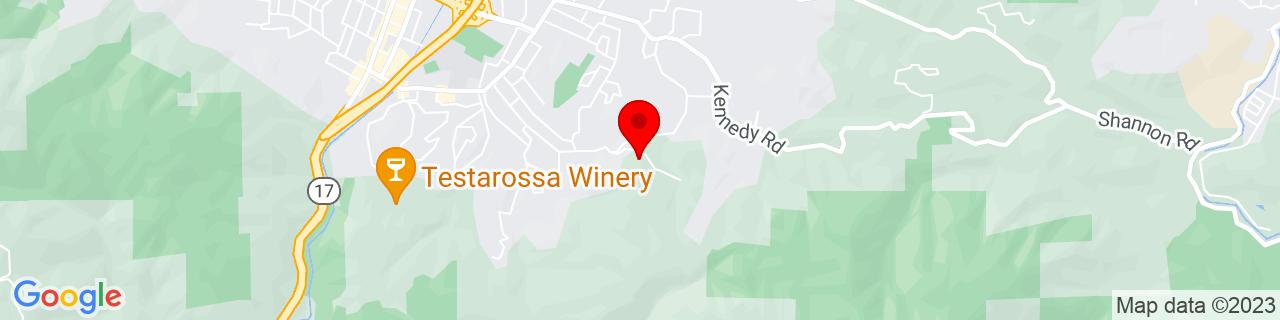 Google Map of 37.2163899, -121.960668