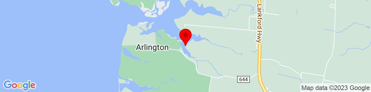 Google Map of 37.226762, -75.9927652