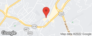 Mapa de 4341 Starkey Rd en Roanoke