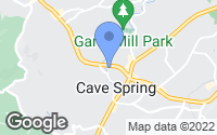 Map of Cave Spring, VA