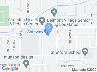 Map of 4 Cats and Dog Dog Boarding options in Los Gatos | Boarding