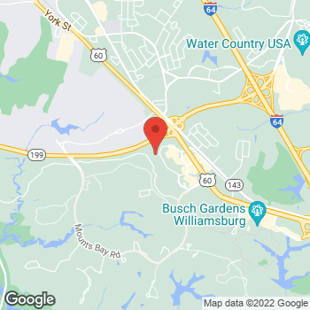Map of BAYADA Home Health at 428 McLaws Circle, Williamsburg, VA 23185