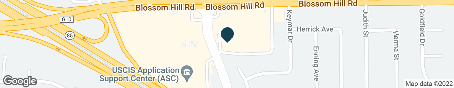 Google Map of440 BLOSSOM HILL RD