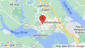Map of Williamsburg