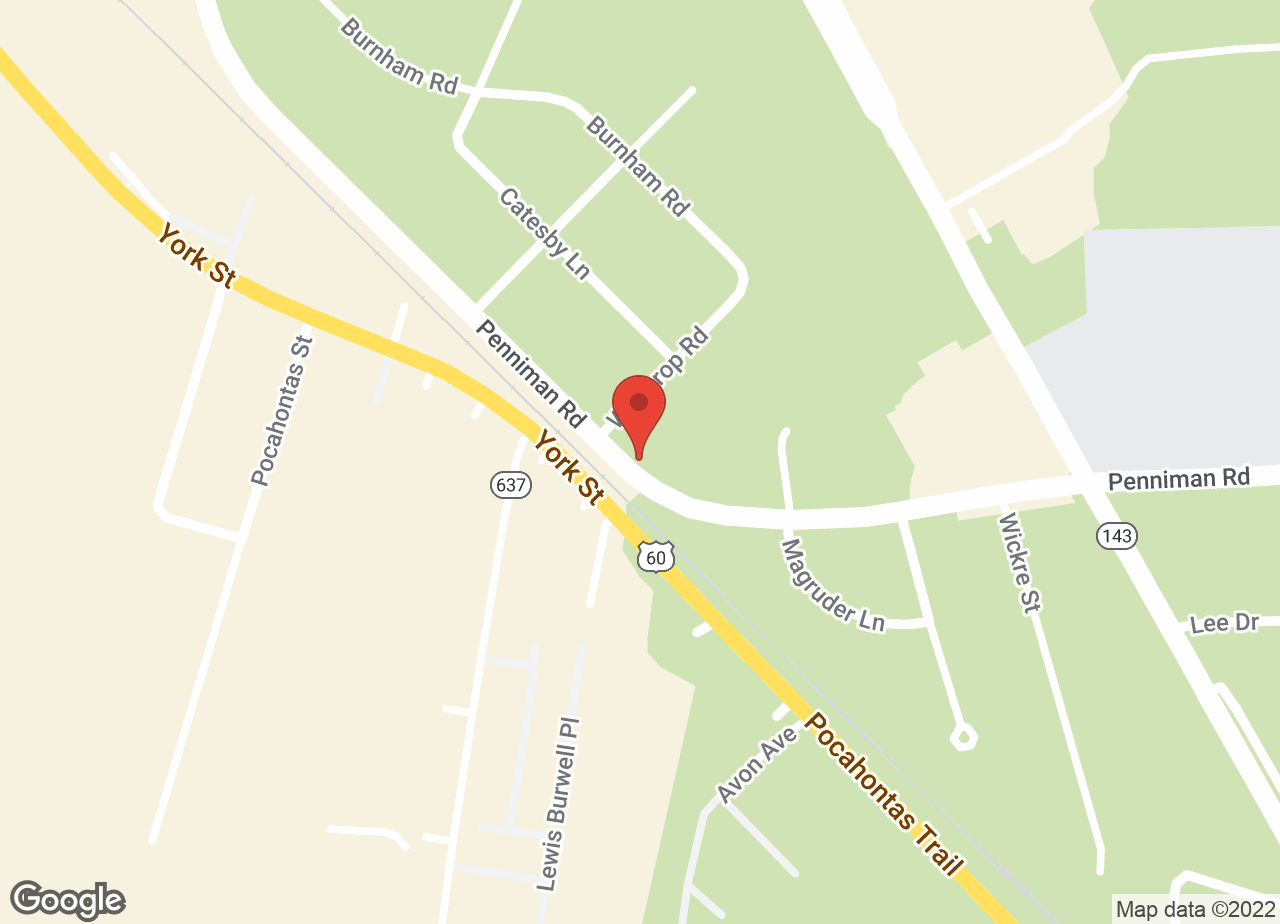 Google Map of VCA Merrimac Animal Hospital