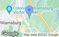 Map of Williamsburg, VA