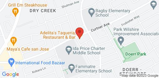 Directions to Adelita's Taquería • Restaurant & Bar