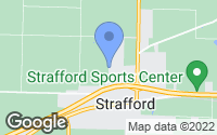 Map of Strafford, MO