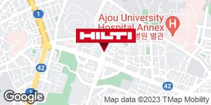 Get directions to 수원팔달우만137