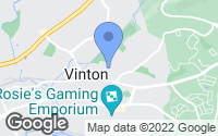 Map of Vinton, VA