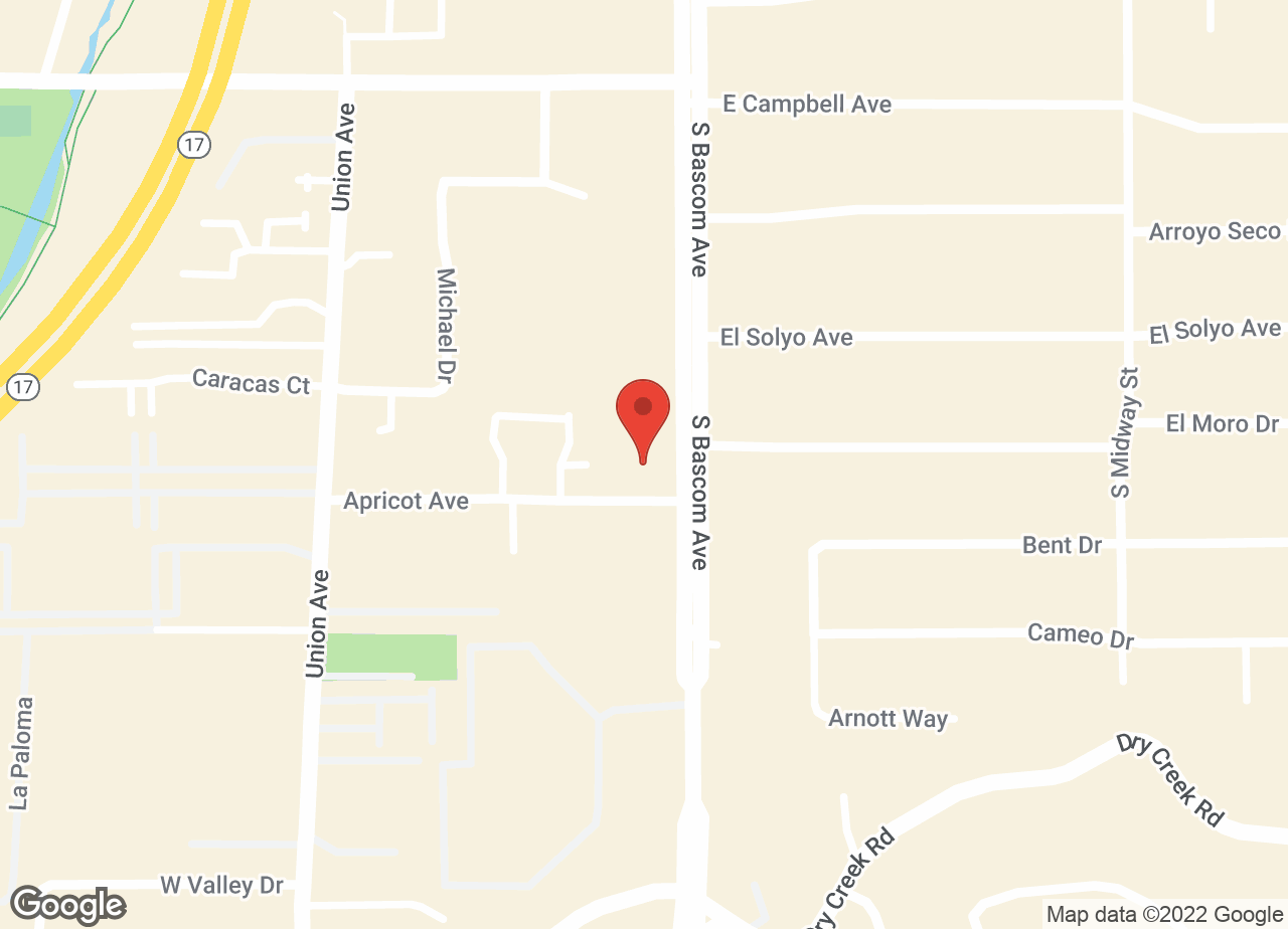 Google Map of VCA Bascom Animal Hospital