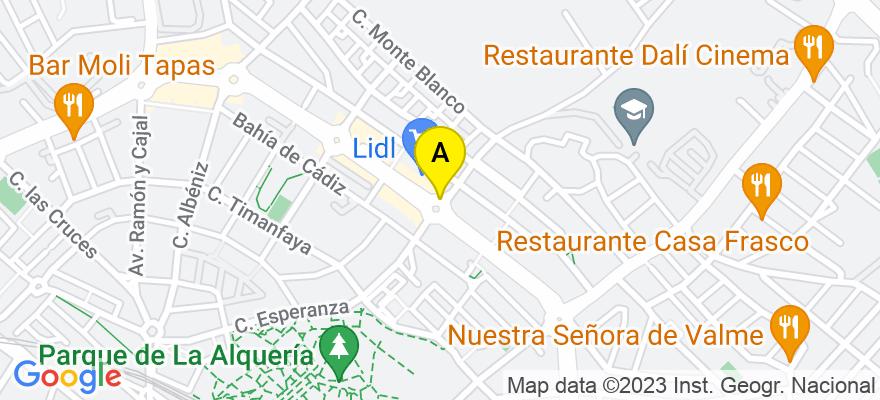 situacion en el mapa de . Direccion: C/Esperanza, 41701 Dos Hermanas. Sevilla
