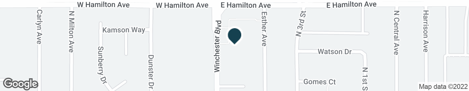 Google Map of1660 WINCHESTER BLVD