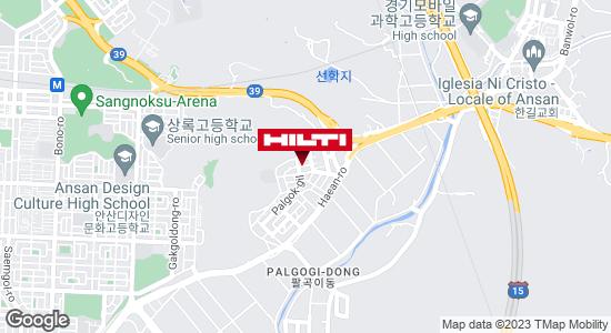 Get directions to 안산상록팔곡일동571