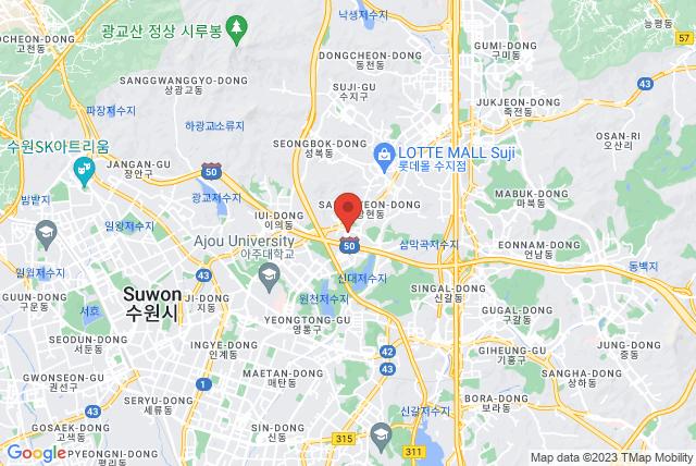 BASI Pilates Korea Map