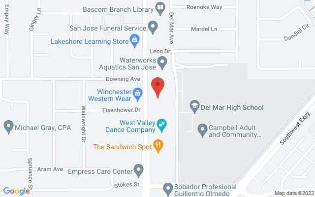 static image of 1190 South Bascom Avenue, Suite 130, San Jose, California