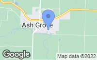 Map of Ash Grove, MO