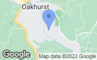 Map of Oakhurst, CA