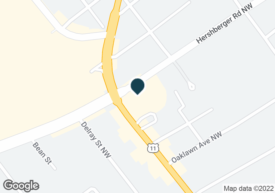 Google Map of4841 WILLIAMSON RD NW