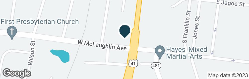Google Map of679 S MAIN ST