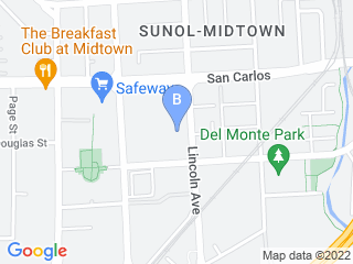 Map of We Dog Care Dog Boarding options in San Jose | Boarding