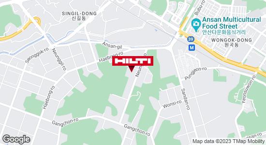 Get directions to 안산단원신길1123