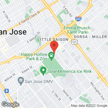Map of Check `n Go at 740 Story Road, San Jose, CA 95122